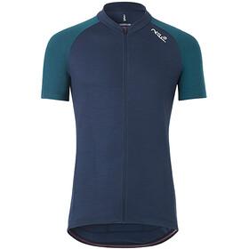 Fe226 DryRide Bike Koszulka z krótkim rękawem, niebieski